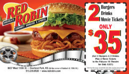 image about Red Robin Coupons Printable called Crimson Robin Discount codes